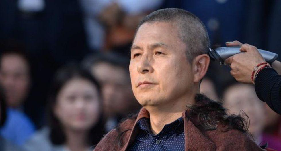 Hwang Kyo-ahn pidió la renuncia del ministro de Justicia con un rapado al cero. (Foto: Getty Images, vía BBC Mundo).