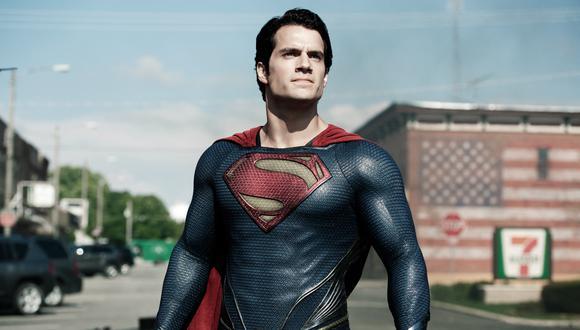 Henry Cavill en el papel de Superman (Foto: AP)