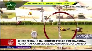 Hipódromo de Monterrico: Jinete falleció al caer de caballo durante carrera