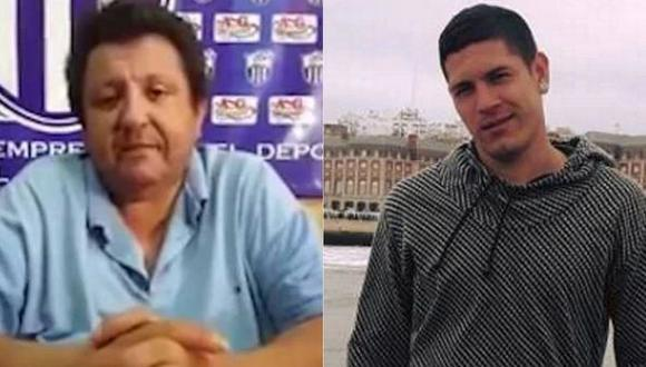 En Paraguay se desató un escándalo luego de que se filtrará la imagen íntima del presidente de un club de fútbol junto a un futbolista. (Foto: Facebook)