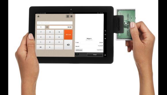 Amazon lanza lector de tarjetas de crédito para móviles