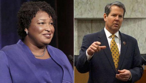 La demócrata Stacey Abrams se puede convertir en la primera gobernadora afroestadounidense de la historia de Estados Unidos.