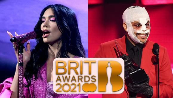 La gala musical de los Brit Awards 2021 será el primer evento en la arena O2 de Londres tras la pandemia del Covid-19. Kevin Winter para AFP/ ABC/ Brit Awards.