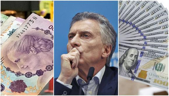El tipo de cambio en argentina ha pasado de 8 pesos por dólar a 55 pesos por dólar en los últimos cinco años. (Foto:Maricielo Garvan)