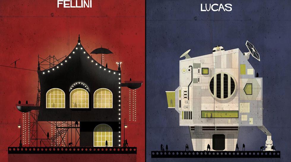 Estas casas fueron inspiradas en directores de cine  - 1