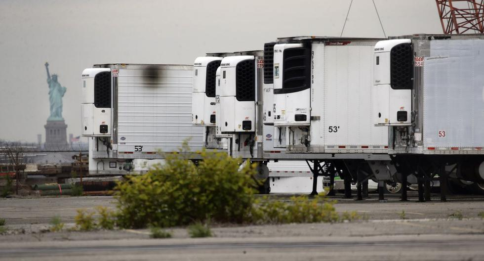 New York still has about 750 bodies of coronavirus victims in refrigerated trucks