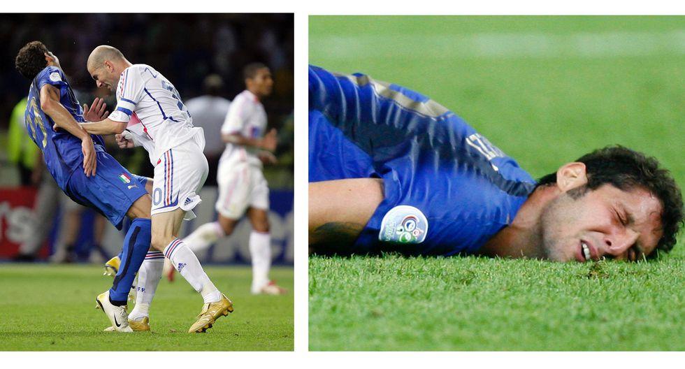 Las faltas más recordadas en los Mundiales  - 6