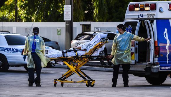 Los 21.638 casos nuevos de covid-19 reportados este sábado y las 108 muertes por covid-19 ocurridas en los siete días que van desde el 23 al 29 de julio marcan récords desde el inicio de la pandemia en Florida, en marzo de 2020. (Foto referencial: Chandan Khanna / AFP / Archivo)