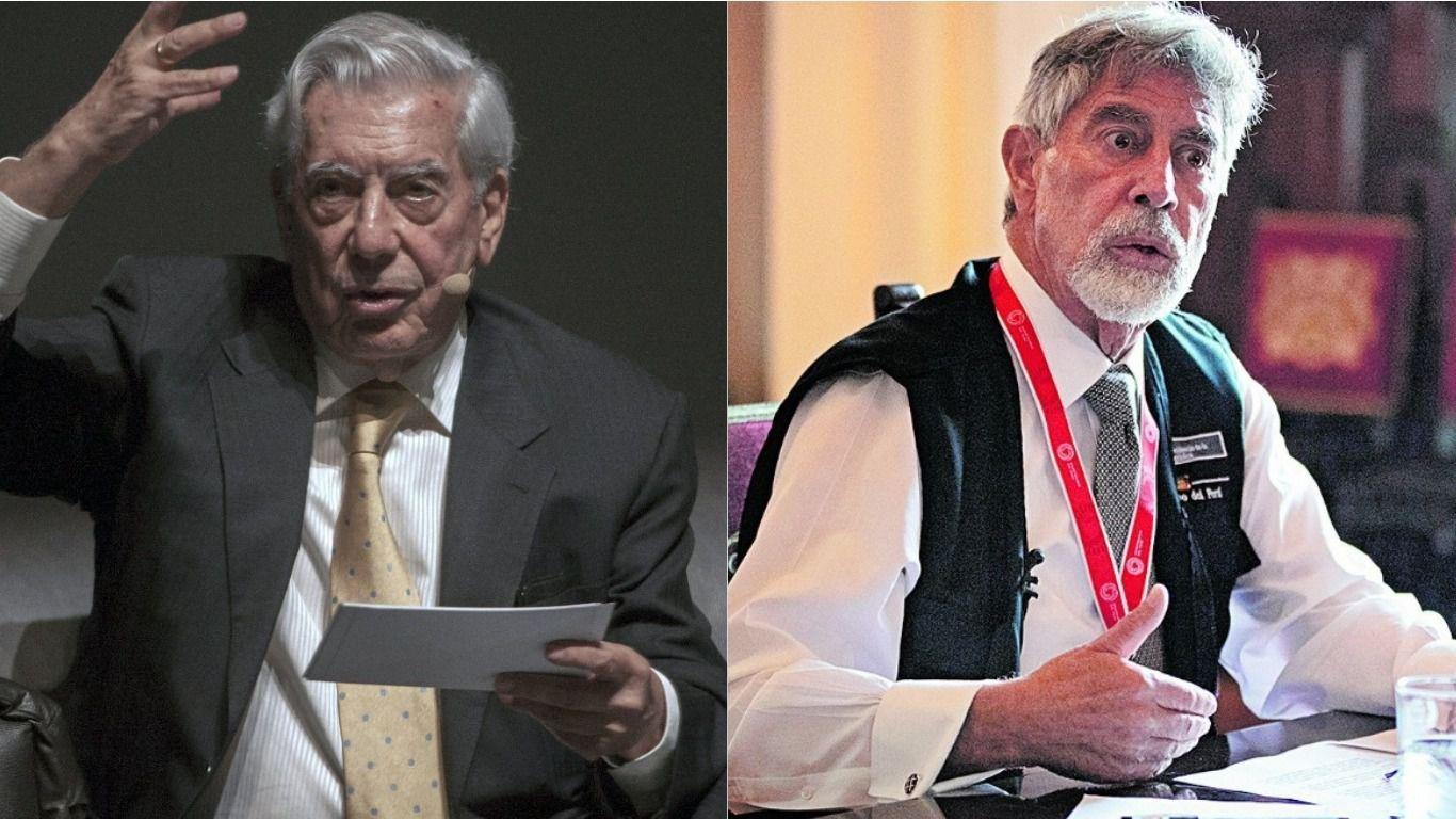 Mario Vargas Llosa negó la versión de haber sido presionado por Sagasti para que convenza a Keiko Fujimori de desistir; pero luego, dijo que el presidente había tomado por Castillo.