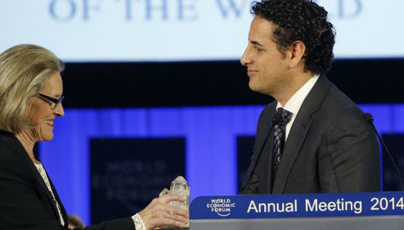 Juan Diego Flórez fue premiado por el Foro Económico Mundial