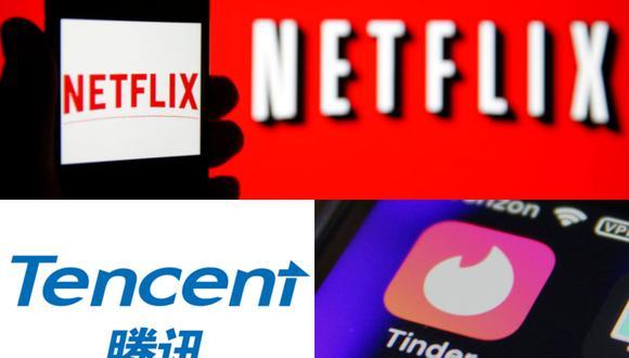 Netflix, Tencent y Tinder.