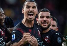 AC Milan venció 3-0 a Lazio por la fecha 30 de la Serie A, con gol de Zlatan Ibrahimovic