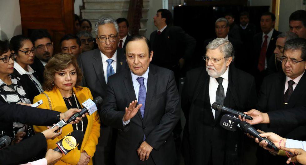 La comisión especial se encarga del concurso público de méritos para la elección de los miembros de la Junta Nacional de Justicia. (Foto: Alessandro Currarino)
