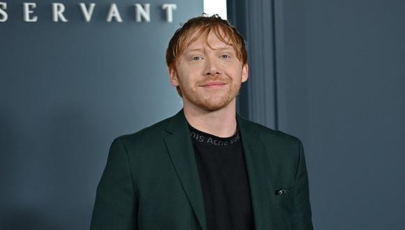 El actor Rupert Grint, quien interpretó a Ron Weasley en Harry Potter, afirma que trabajar en la cinta fue agotador. (Foto: Angela Weiss / AFP)