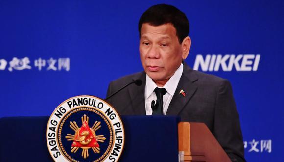 El presidente de Filipinas ha tenido diversos comentarios polémicos sobre la comunidad LGTB durante su gestión. (Foto: AFP)