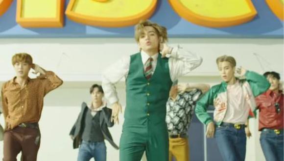 """BTS estrenó el primer tráiler de su nuevo éxito """"Dynamite"""". (Foto: Captura de YouTube)"""