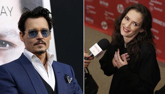 """Winona Ryder defendió a Johnny Depp: """"Nunca ha sido agresivo"""""""
