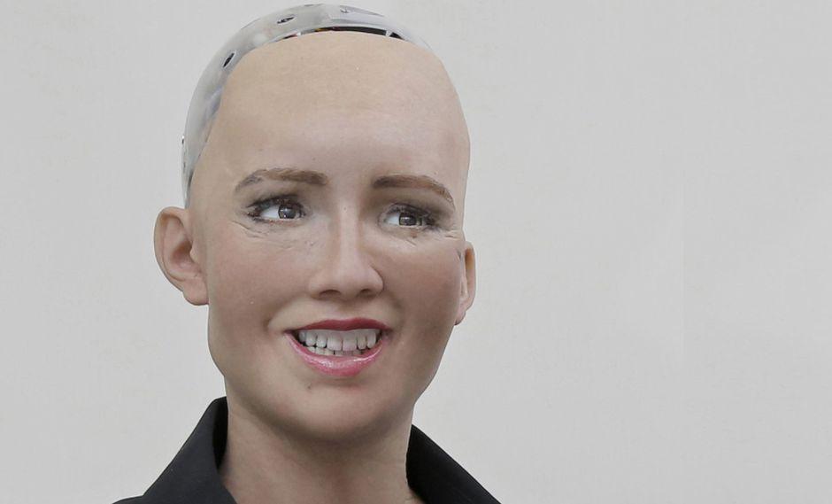 Robot Sophia. (Foto: AP)