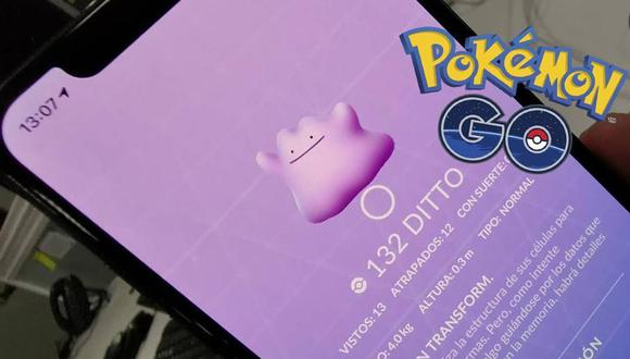 ¿Te está faltando Ditto en tu Pokédex? Conoce cuáles son los Pokémon de donde puede salir el personaje que se transforma. (Foto: Nintendo)