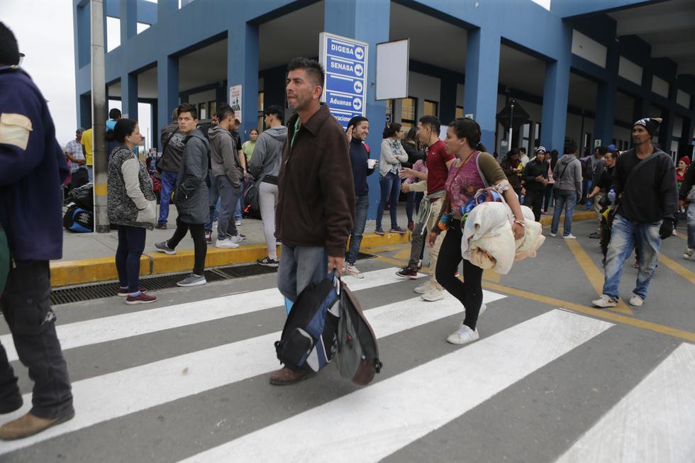 Venezolanos en Perú: migrantes apuran su ingreso por Tumbes