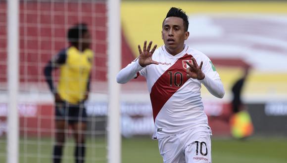 Cueva y Lapadula jugaron un partidazo en el Ecuador vs. Perú por la fecha 8 de las Eliminatorias Qatar 2022.