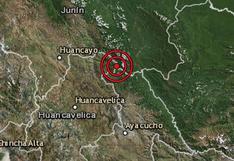 Huancavelica: sismo de magnitud 4,0 sacudió la provincia de Tayacaja