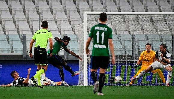Juventus enfrentó al Atalanta por la Serie A de Italia   Foto: AP/EFE/AFP