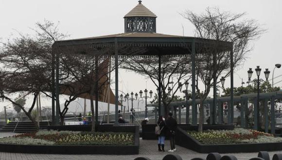La alameda Chabuca Granda, uno de los espacios que podrás visitar este domingo. (Foto: GEC)