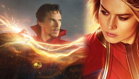 """Captain Marvel aparece en """"Doctor Strange"""" según teoría y muy pocos se dieron cuenta (Foto: Marvel Studios / Montaje)"""