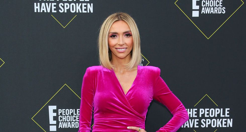 Giuliana Rancic  en los E! People's Choice Awards (Foto: AFP)