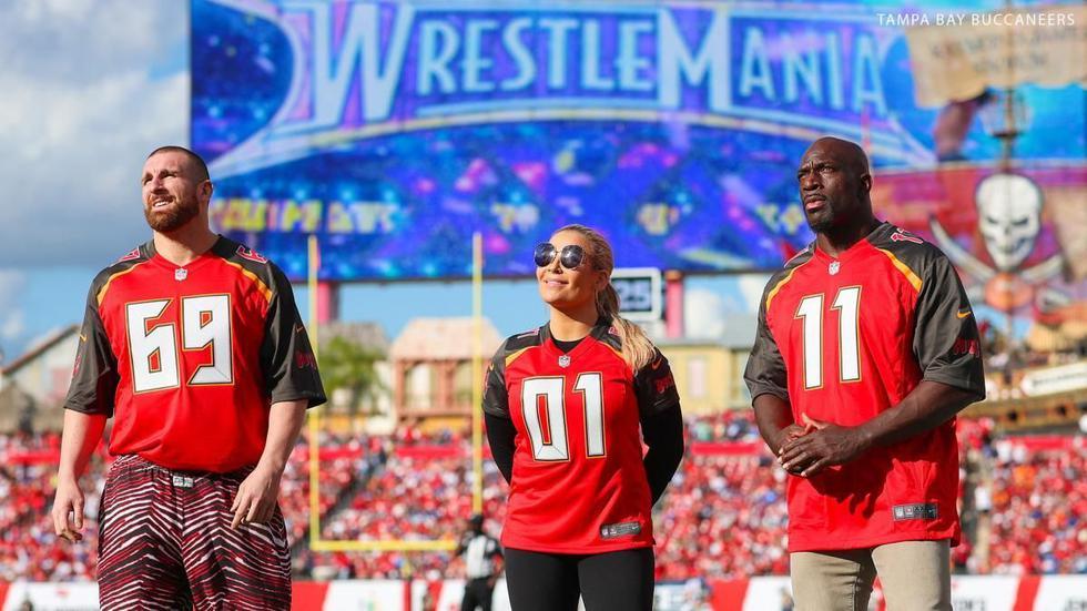 WrestleMania será en Tampay: conoce la casa de la 'Vitrina de los Inmortales' (WWE/AFP/EFE)