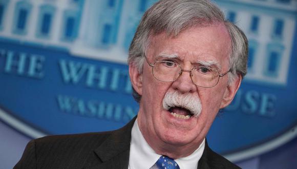 John Bolton recomienda a Nicolás Maduro que acepte la amnistía y que se retire a una playa. (AFP).