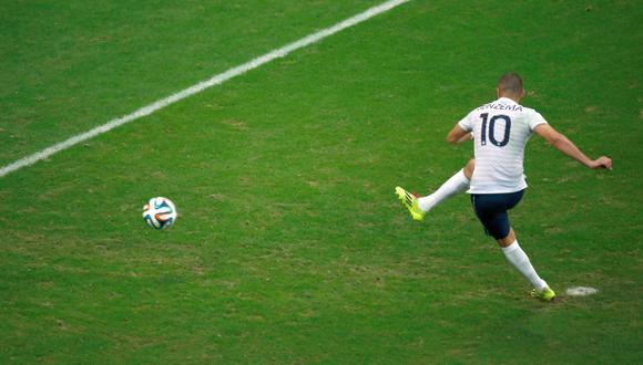 Brasil 2014: Benzema y el primer penal errado del Mundial