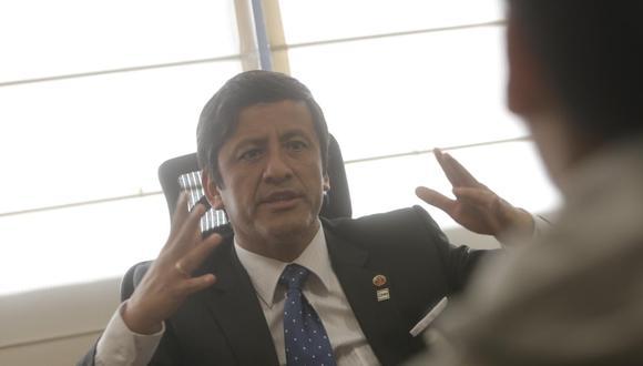Guido Aguila fue presidente del desactivado Consejo Nacional de la Magistratura. (Foto: Piko Tamashiro / GEC)