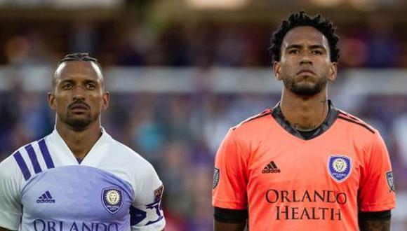Pedro Gallese fue reconocido por Nani y Alexandre Pato, sus compañeros en Orlando City. (Foto: Instagram)