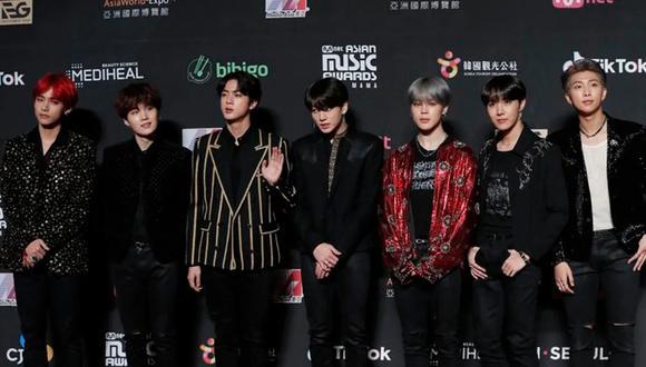 BTS es considerada la banda de K-Pop más exitosa de todos los tiempos. (Foto: AP)