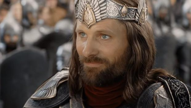 Aragorn's armor was to be custom fitted in an extra scene that was cut (Photo: New Line Cinema)