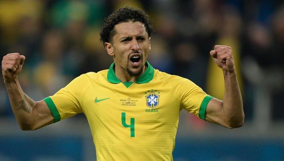 Marquinhos, defensor del PSG y la selección brasileña. (Foto: AFP)