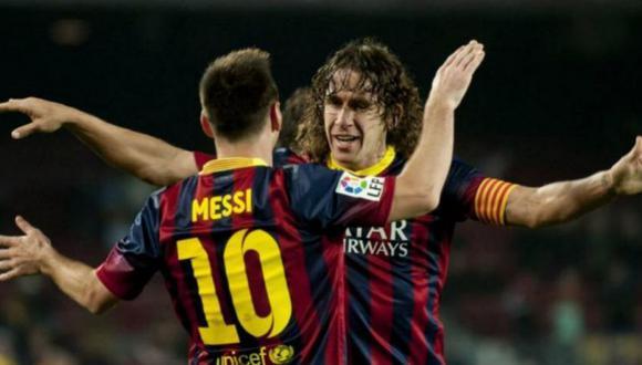 Carles Puyol salió en defensa de Pedri en su cuenta de Twitter. (Foto: EFE)