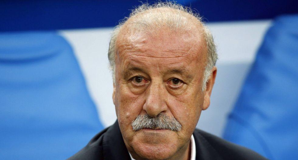 Del Bosque dice que dejará España luego de la Eurocopa 2016