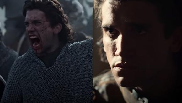 """Jaime Lorente, caracterizado como Rodrigo Díaz de Vivar en """"El Cid"""". Fotos: Prime Video."""