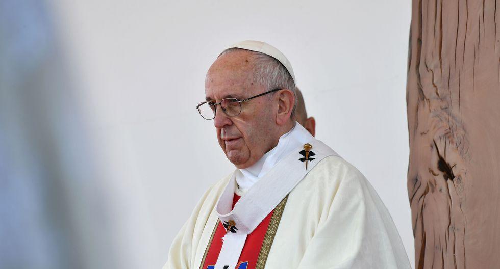 """""""Es el inicio de una Iglesia concebida como una organización no solo vertical sino también horizontal"""", anunció el papa Francisco en una entrevista. (AFP)"""