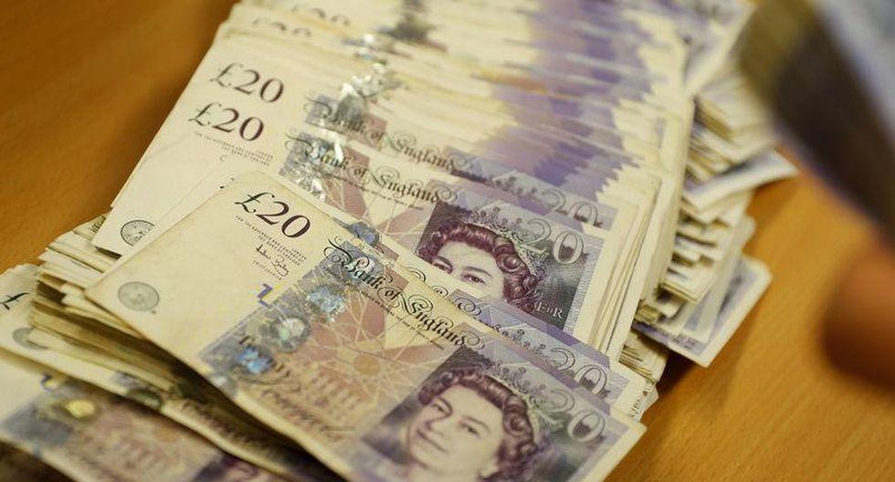 La libra esterlina registró ganancias en la semana tras la mayor baja para el dólar en un mes.(Foto: Reuters)