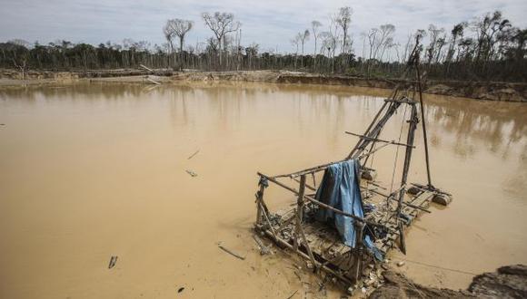 La minería ilegal devastó gran parte de la selva de Madre de Dios. (Foto:Archivo/El Comercio)