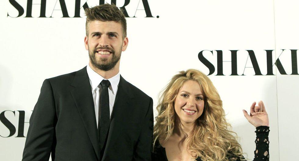 Shakira y pareja Gerard Piqué protagonizaron un efusivo video en redes sociales tras la participación de Colombia en la Copa Davis 2019. (Foto: EFE)