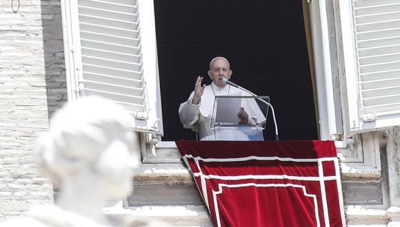 El papa Francisco advirtió el domingo a los italianos de que no bajen la guardia contra el coronavirus ahora que las tasas de infección han disminuido. (Foto: EFE/Giuseppe Lami)