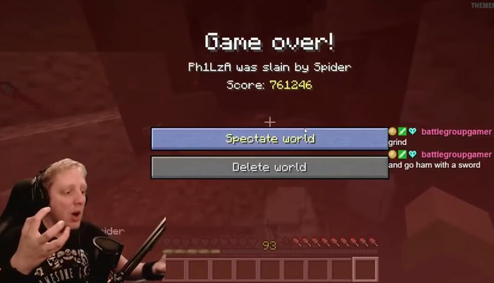 Un jugador de Minecraft pierde la partida que ha jugado durante cinco años. (YouTube)
