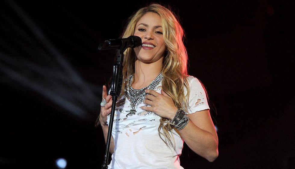"""Shakira presentó el adelanto de su película """"El Dorado World Tour"""". (Foto: AFP)"""