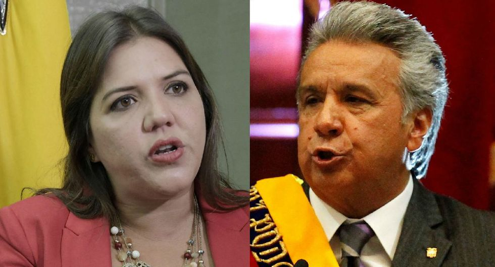 Lenín Moreno: Presidente de Ecuador exime de sus funciones a vicepresidenta María Alejandra Vicuña investigada por corrupción. (EFE / Reuters).