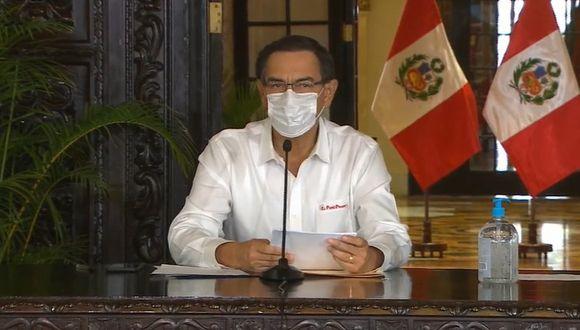 El presidente Martín Vizcarra ha mostrado varias veces su descontento con el proyecto del Congreso sobre retiro de fondos de las AFP.